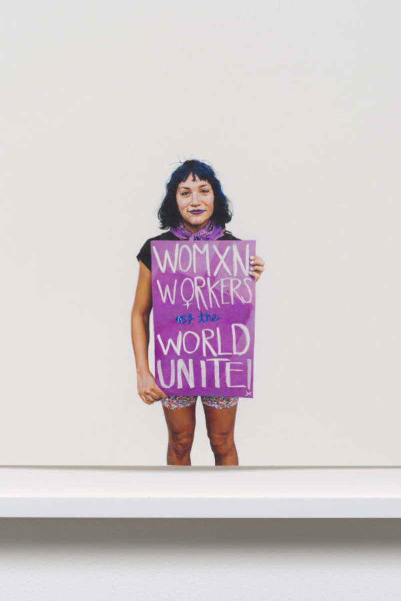 Womxn Workers of the World Unite! (May Day March 2015, Los Angeles, California) [detail]