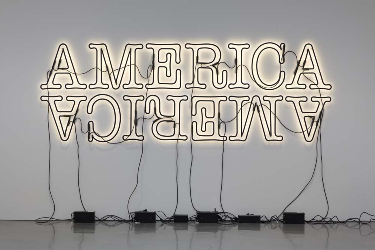 Double America 2, 2014. Image courtesy the artist.