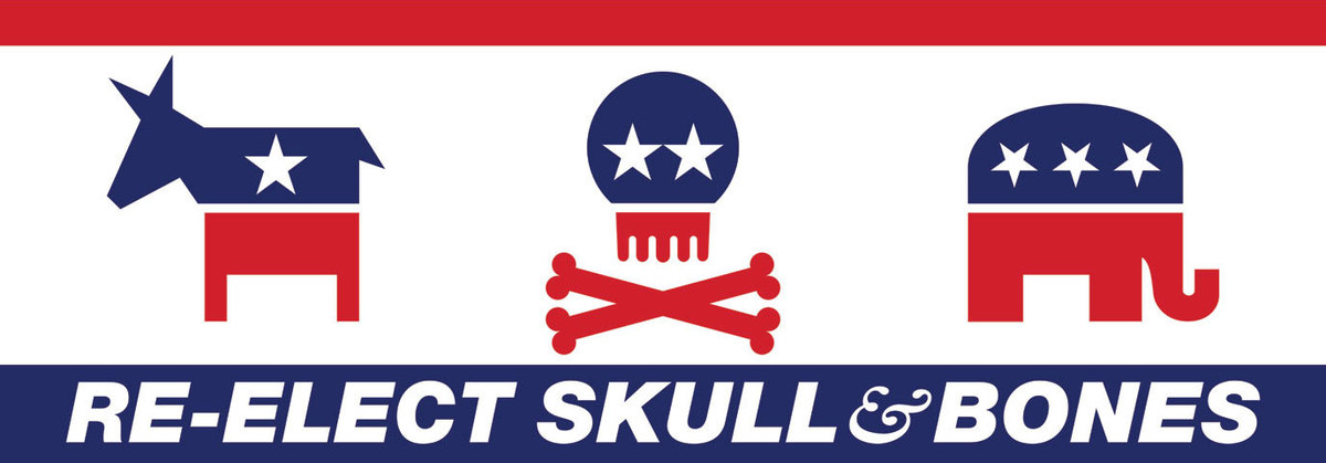 Re-elect Skull & Bones, 2015. Image courtesy the artist.