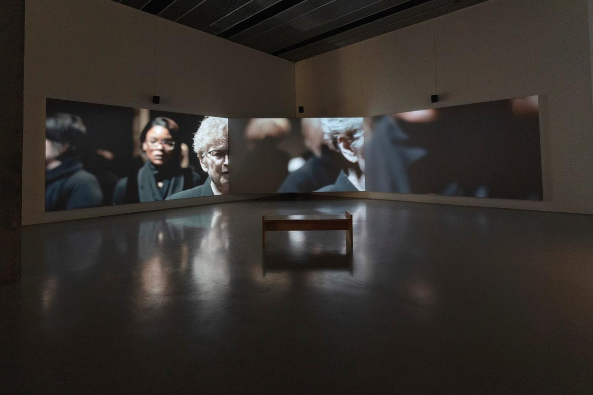 Installation view: Sounding Labor, Silent Bodies